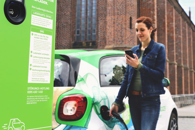 Laden via SMS » NEUWOGES Mobilität